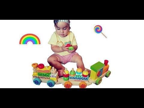 Tut TuT Baby Züge  Spielzeug Kinder  Train Station Toys Kids  Spielzeug aus Holz