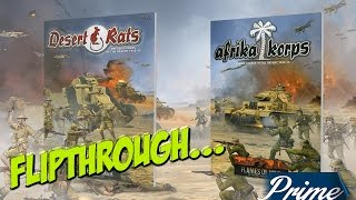 Flames Of War: Afrika Korps and Desert Rats