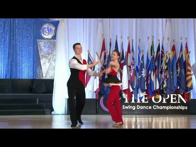 Семен Овсянников и Мария Елизарова US Open 2017 West Coast Swing Routine in the Classic Division