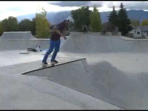 Logan UT skate park montage