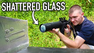 Shooting DANGEROUS Things out of a CAN CANNON! (Science Experiment)