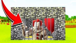 Minecraft: WE TRAPPED PENNYWISE! (Ps3/Xbox360/PS4/XboxOne/PE/MCPE)