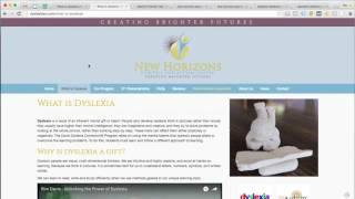 New Horizons Dyslexia Center - Memphis, TN - Website Audit By Unofficial