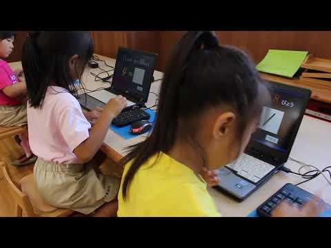 永照幼稚園(そろばん授業の様子)その1【野々内あんざん・そろばんスクール】Japanese abacus