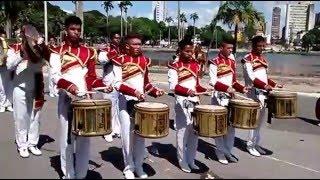Banda marcial castro Alves 2015 cadência