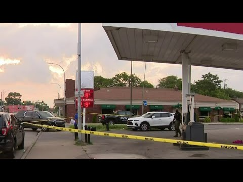Police investigating after 2 shot outside gas station in River Rouge
