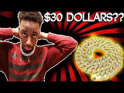 $30 Amazon Cuban Link Necklace Review | Is It Worth It?