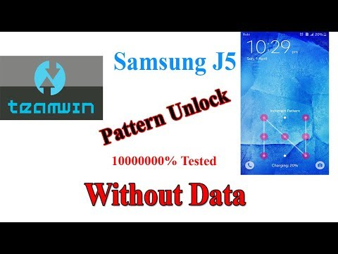 Samsung J5 Pattern Unlock Without Data_ Full DATA Save _Only
