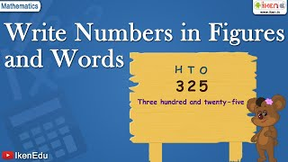 Write Numbers in Figures and Words