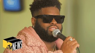 Pink Sweat$ Performs 'Honesty', 'Would You' & More! (Live Performance) | Office Hours | MTV News