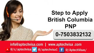Step to Apply British Columbia PNP Complete Guidance