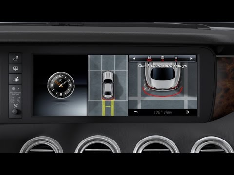 Mercedes-Benz TV: S-Class Coup : 360 camera.