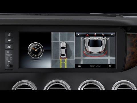 Mercedes-Benz TV: S-Class Coup : 360 camera.