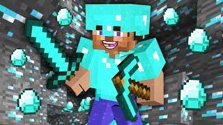 MINECRAFT - HOW TO FIND DIAMONDS FAST!! MINECRAFT w/ MY GIRLFRIEND!! (Minecraft #10)