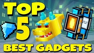 Top 5 Best Gadgets To Use In Pixel Gun 3D 1111 + Review And Gameplay