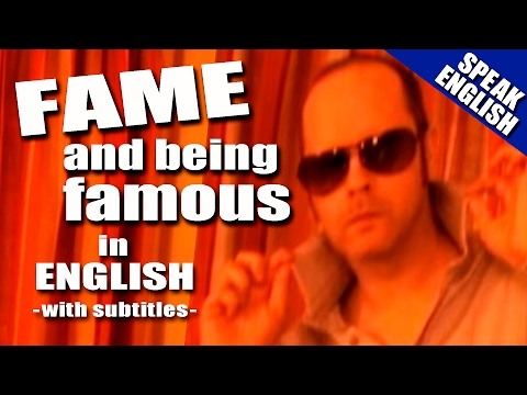 Learn English with Mr. Duncan - Lesson 9 (Fame)