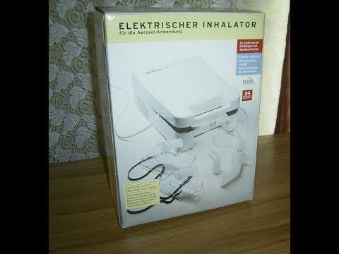 Funktionsprüfung  Elektrischer Inhalator für  die Aerosol-Anwendung