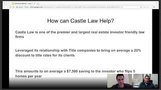 You're losing MONEY on legal and title fees! My chat w/Gary Davidson
