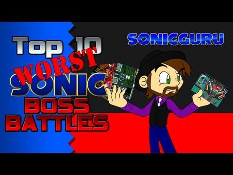 Top 10 Worst Sonic Boss Battles   SONICGURU