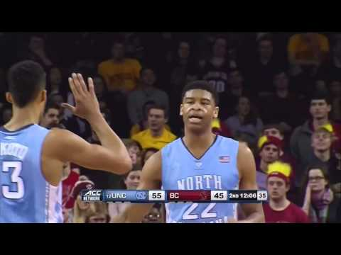 Video: UNC-Boston College Game Highlights