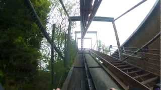 preview picture of video 'Chessington World of Adventures - Vampire (1080p25, Fisheye, GoPro)'