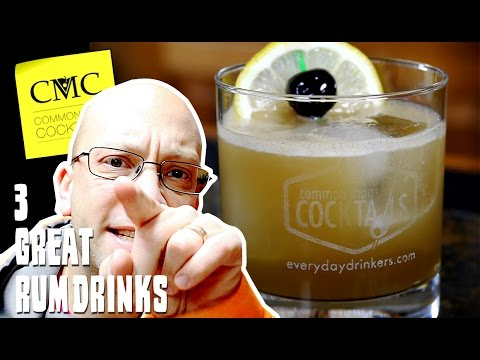 Video 3 Best Rum Drinks ????  Cocktails With Rum Volume 1