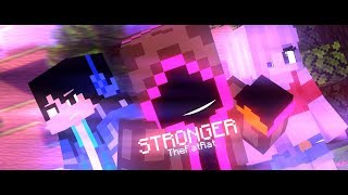 "♪ "" Stronger "" ♪  - TheFatRat (A Minecraft Fight Animation)"