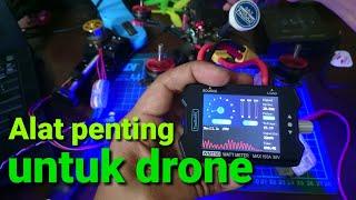 Review Watt meter ToolkitRC beserta pengujian pada motor , servo , dan drone fpv