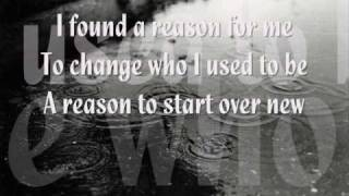 Hoobastank   The Reason  [lyrics]
