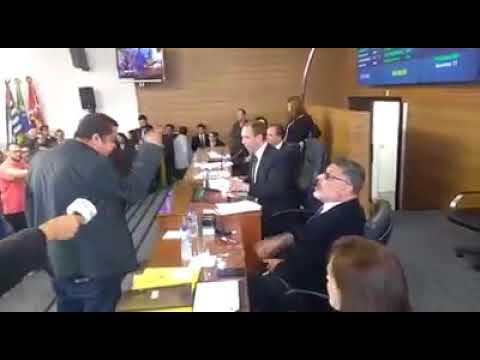 A presença do ator Alexandre Frota causou uma confusão na Câmara de Vereadores de Sorocaba