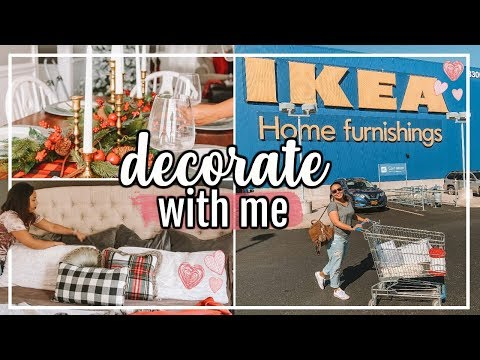 IKEA DECORATE WITH ME 2018 | IKEA HOME DECOR HAUL & DECORATING! | Page Danielle