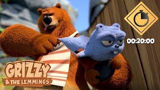 20 minutes de Grizzy & les Lemmings // Compilation #10 - Grizzy & les Lemmings