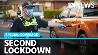 Special Coverage Of Melbournes Return To COVID-19 Lockdown   ABC News