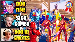 Streamers Host INTENSE Duo SKIN CONTEST | Fortnite Daily Funny Moments Ep.512