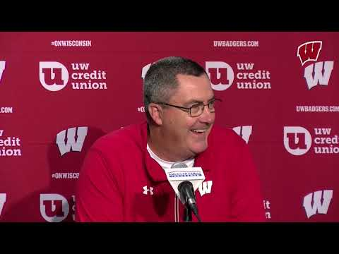 Paul Chryst Press Conference: Badgers Open 2019 Season at South Florida