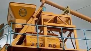 Стационарный бетонный завод «CHANGLI» HZS 35 от компании Строительное Оборудование - видео