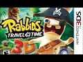 Rabbids Travel In Time 3d Gameplay nintendo 3ds 60 Fps