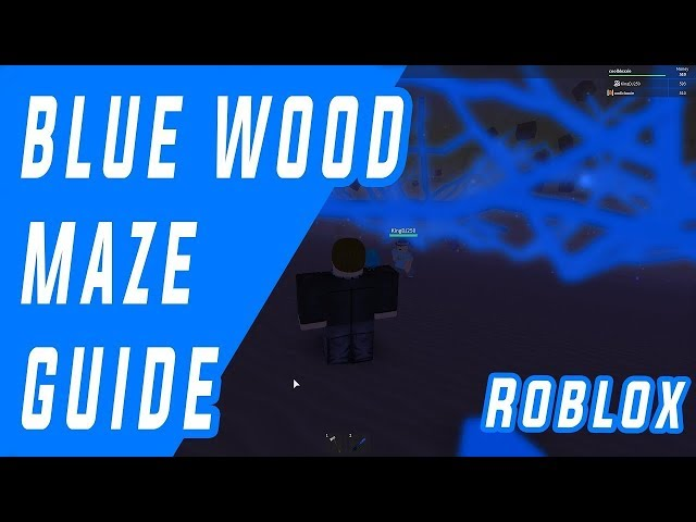 Blue wood Maze Road guide map(14-03-2018)Lumber Tycoon 2 Roblox