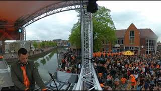 Koningsdag Havenplein on stage 47983609