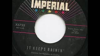 Fats Domino - It Keeps Rainin' (stereo) - December 28, 1960