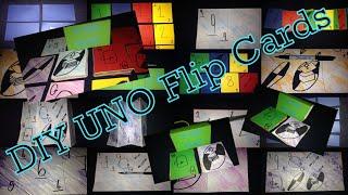 DIY Uno Flip Cards