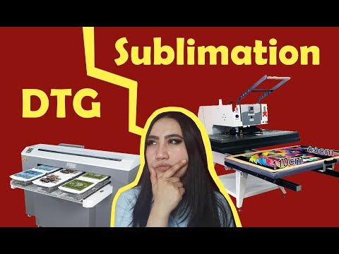 DTG vs Dye Sublimation (Business Comparison)