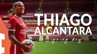 Signing Day: Behind the scenes with Thiago Alcantara