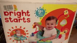 review and building of Bright starts Bounce Bounce Baby activity center