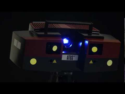 3D Vermessung, GOM Atos Triple Scan, optische Messtechnik, optische Vermessung, Konstruktion