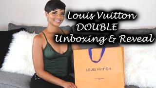 Double Louis Vuitton Unboxing & Reveal