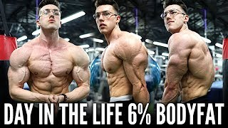 The Reality of Being 6% Body Fat DAY IN THE LIFE | 6 Days Out...