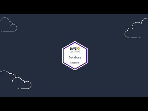 AWS Certified Database - Specialty - YouTube