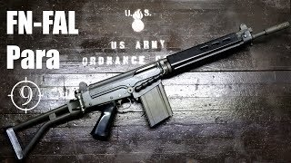 FN FAL Para (South African Paratrooper) review with 7.62x51mm Aguilla