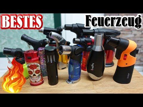 Bestes Feuerzeug   Sturmfeuerzeuge für Silvester   Gasbrenner   PyroMotteFullHD